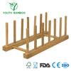Bamboo Dish Plate Drying Rack