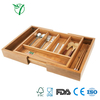 Cutlery Bamboo Container Box