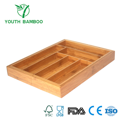 Knife and Fox Bamboo Container Box