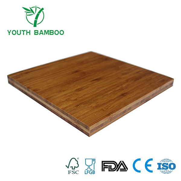 Bamboo Plywood 3 Ply Dark Carbonized Plain Pressed
