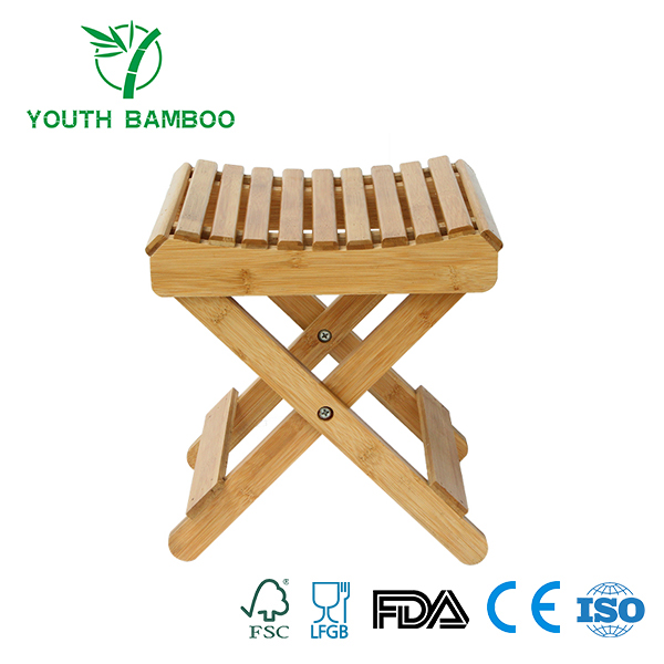 Bamboo Folding Shower Seat