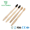 Bamboo Toothbrush With Soft Charcoal Infused Bristles