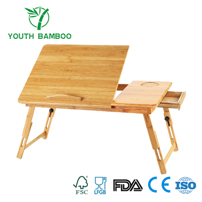 Bamboo Laptop Flodable Desk