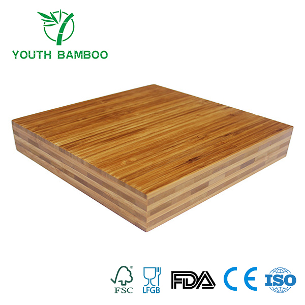 Bamboo Plywood 7 Ply Horizontal Carbonized Side Pressed