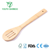 Bamboo Curved Slotted Spoon
